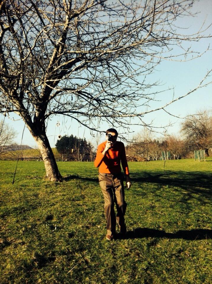 Rouge Elea - tournage arbre
