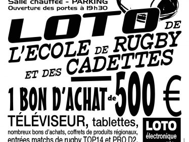 Affiche A3 Rugby