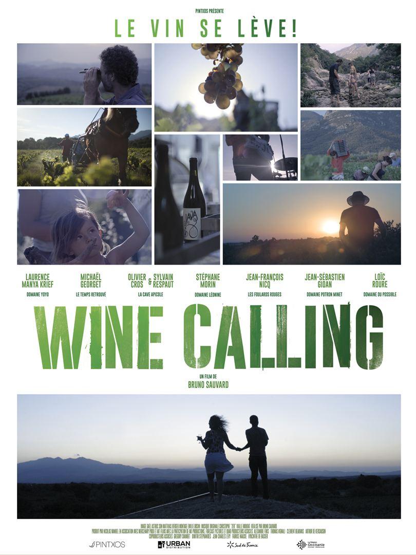 affiche wine calling